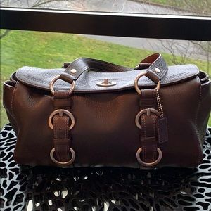 Coach Vintage Pebbled Leather Purse